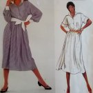 Bill Bass Designer Shirt Dress Vogue 2961 Pattern, Size 10, Bust 32.5, UNCUT
