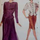 Easy  Misses or Petite Vogue 7886 Top & Skirt Pattern,  Size 12 14 16, Uncut