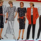 Vogue 9823 Misses Jacket, Skirt, Pants, Dress & Blouse Sewing Pattern, Size 8 10 12 Uncut