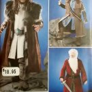 Simplicity 1552 Men's  Medieval Tunic, Cloak, and Accessories Costume  Pattern. Size XS to XL, UNCUT