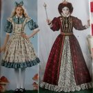 Simplicity 2325 Alice in Wonderland, Queen of Hearts Costumes & Crown Pattern, Size 14 to 22, Uncut