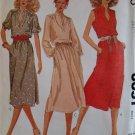 Vintage McCalls 6651 Misses'  Dress Pattern,  Size 12, UNCUT