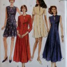 Misses Dress in two Lengths McCalls 7738 Pattern, Size 12 14 16, Uncut