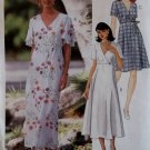 Misses Dress in two Lengths McCalls 8236 Pattern, Size 12 14 16, Uncut
