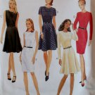 McCalls 8268 Misses Semi Fitted Dress Pattern, Sz 14 to 18, Uncut