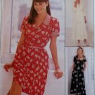 McCalls 8098 Misses Dress in 2 lengths Pattern, Sz 8 10 12, Uncut