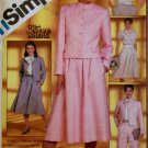 Simplicity 5834  Misses Pants, Skirt, Blouse, lined Jacket Pattern,  Size 14, UNCUT