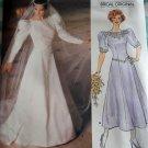 Misses Bridal Dress Vogue 1679 pattern, Size 14, Bust 36, Uncut
