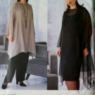 Designer Women's Top, Tunic, Skirt, Pants Vogue 2172 Pattern, Plus Size 26W to 30W, UNCUT