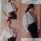 Vogue 2091 Perry Ellis Design Misses Blouse Pattern, Size 8 10 12,UNCUT