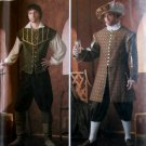 Simplicity 4059 Men's Renaissance Doublet, shirt, pants, hat Costume Pattern. Size XS to XL, UNCUT