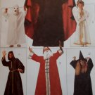 McCalls 7854 Misses, Men's, Teens Halloween Costumes Pattern. Size XS to L, UNCUT