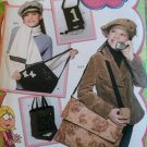 Simplicity 4073 Lizzie McGuire Design Hat & Accessories Pattern,  Uncut