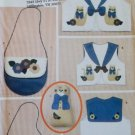 Butterick 4842 Mom & Child Cat Vest & Accessories Pattern,  Misses S to L, Childrens S to L, Uncut