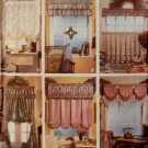 Easy Simplicity 8401 Jiffy 6 Pack Window Treatments Home Decor Pattern, Uncut