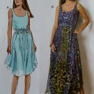Misses Dress & Belt Butterick B 6021 Pattern, Sizes 8, 10, 12, 14, 16, UNCUT