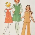 Simplicity 7021 Girls Jumper or Top and Pants Pattern, Size 7, Uncut