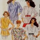 Easy Misses Shirts McCalls 4723 Pattern, Plus Size XL 22/24, Uncut