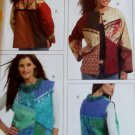 McCalls M 5127 Misses Color Block Lined Jacket & Vest Pattern, Multi sized 8 to 22, Uncut