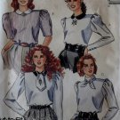 Vintage Misses Blouse McCalls 4417 Patterns, Sizes 10, 12, 14, UNCUT
