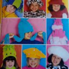 McCalls 3404 Childs  Hats, Scarfs & Mittens Pattern, one size, UNCUT