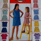 McCalls M 3677 Girls' Tops & Skorts Pattern, Sz 10, 12, 14, Uncut