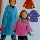 McCalls  M 5743 Girls' Jackets and Coats Pattern, Sizes 7 to 14, UNCUT
