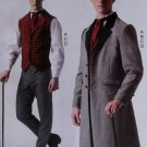 Men's Steampunk Costume, McCalls M7003 Pattern, Plus Size S to XXL, Uncut