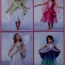 McCalls M 4887 Children's/Girls' Fairy Costumes Pattern, Size 6 7 8, Uncut