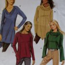 Easy Butterick B5679 Misses Top Pattern, Size XSm Sm Med, Uncut