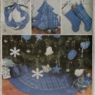 MCalls 3777 Christmas Decorations Pattern, Uncut