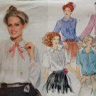 Vintage Misses' Blouse Vogue 1797 Pattern, Size 16, Bust 32.5, Uncut