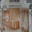 Bathroom Essentials McCalls 762 Pattern, Uncut