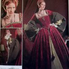 OOP Misses' Tudor Gown - Dress Costume Simplicity 2589 Pattern, Size 8 to 16, Uncut