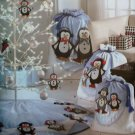 OOP Simplicity 3540 Shirley Botsford Designs Penguin Christmas Decorations Pattern, Uncut