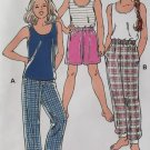 Kwik Sew 2667 Girls Sleep Pants, Shorts & Camisole Kwik Sew 2667 Pattern, Sizes 7 to 14, UNCUT