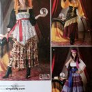 Costume Gypsy & Fortune Teller Simplicity 2331 Pattern, Plus Sz 6 To 12, Uncut
