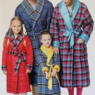 Childs Robe with Belt, top, Butterick B 5830 Pattern, Sz 3 to 8, Uncut