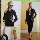 Misses' knit Jacket, Top, Skirt & Pants Simplicity 1070 Pattern, Plus Sz 12 To 20, Uncut