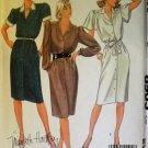 McCalls 8905 Misses' Dress and Tie Belts Pattern, Sz 10, Uncut
