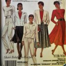 Easy Misses' Unlined Jacket, Top, Skirt, & Pants McCalls 3298 Pattern, Sz 8 10 12, Uncut