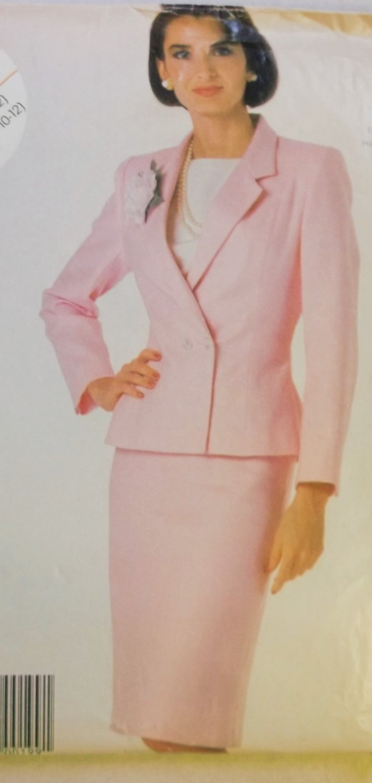 Misses' Jacket and Skirt McCalls 2324 Pattern, Sz 8 10 12, Uncut