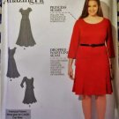 Amazing Fit Misses Dress Simplicity 1537 Pattern, Size 20W to 28W, Uncut