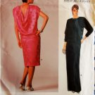 Very Easy Vogue 1364 Oscar de la Renta Evening Dress Pattern, Size 8, Bust 31.5