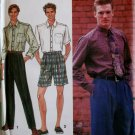 Men's Pants or Shorts and Shirt Simplicity 8571 Pattern, Size 38 to 44, Uncut