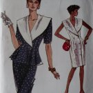 Vintage Misses' Dress, Top & Skirt Vogue 7236 Pattern, Size 14, Bust 36, Uncut
