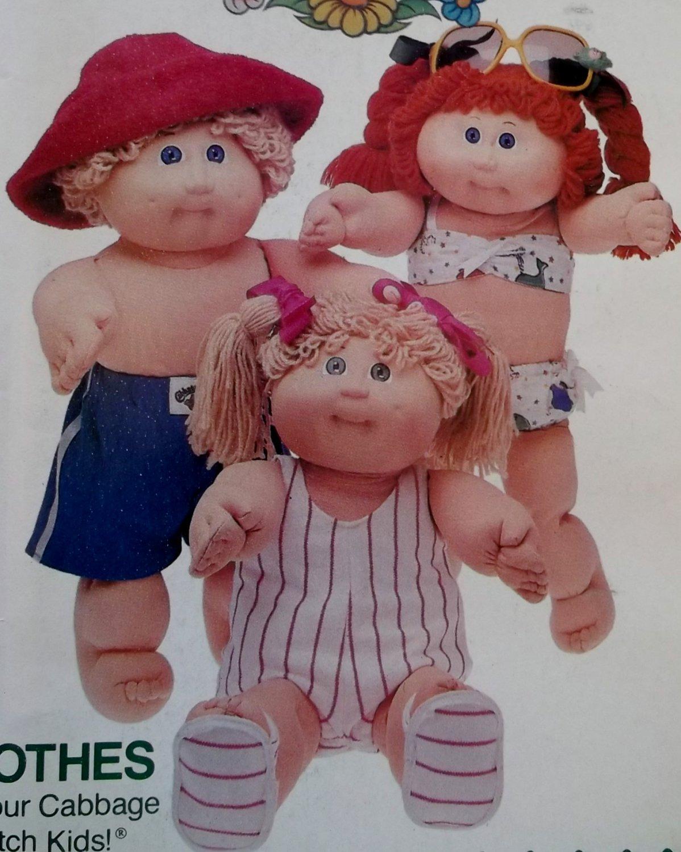 Butterick 3745 Cabbage Patch Kids Doll Clothes Pattern, UNCUT
