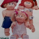 Butterick 3745 Cabbage Patch Kids Doll Clothes Pattern, UNCUT