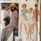 Easy Misses Basic Pants or Shorts, Skirt, Top, Cardigan Simplicity 8858 Pattern, Sz L, XL, Uncut