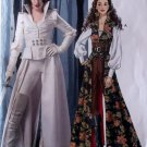 Misses Snow White or Pirate Costume McCalls M6819 Pattern, Size 6 To 14, Uncut